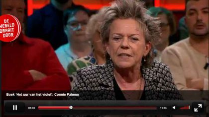 Connie Palmen in DWDD 7 februari 2017